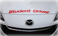 Defensive Driving in a Cantor's Student Driver Car